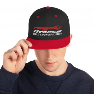 Snapback Cap (rot weiß)
