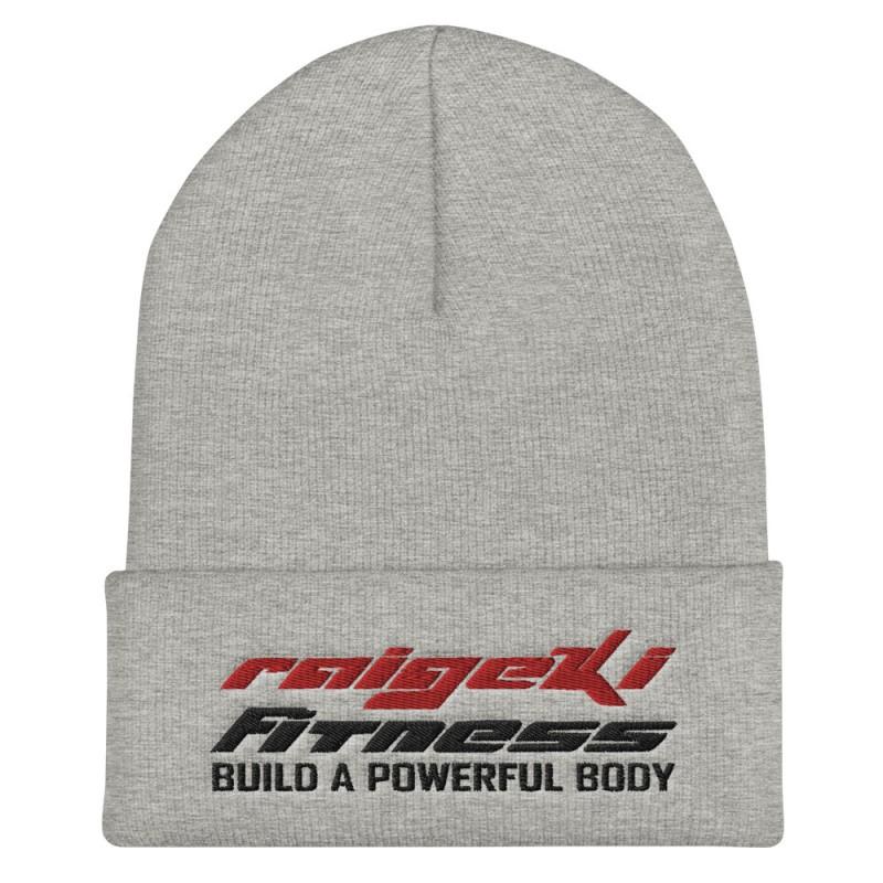 Warme Raigeki Fitness Mütze. Besonders nach dem Sport gut geeignet um sich durch ein geschwächtes Immunsystem nicht zu erkälten.