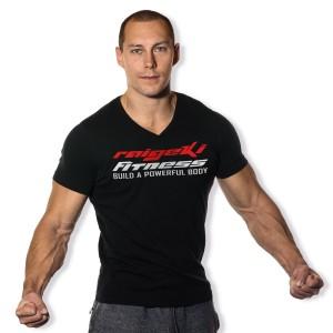 Das Fitness V-Ausschnitt Shirt für Männer, passt immer und überall.